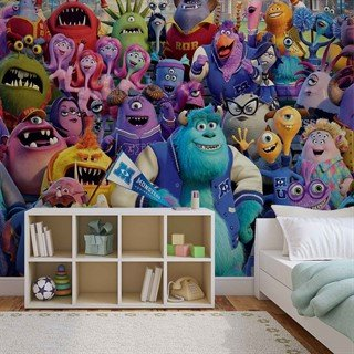 Fototapet-disney-monsters-inc-väggmålning-523wm-disney-monsters-inc