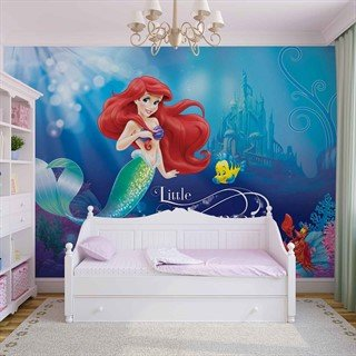 Fototapet-disney-princesses-ariel-väggmålning-533wm-disney-ariel-little-mermaid
