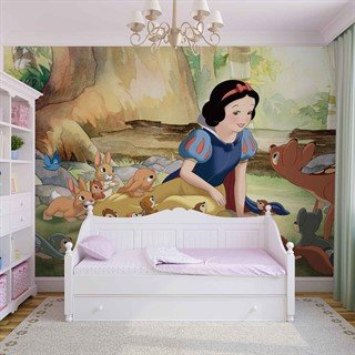 Fototapet-disney-princesses-snow-white-väggmålning-2417wm-disney-snow-white