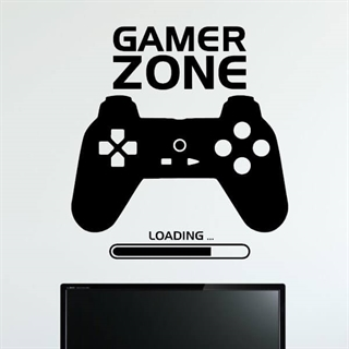 Gamer Zone Loading - Wallstickers