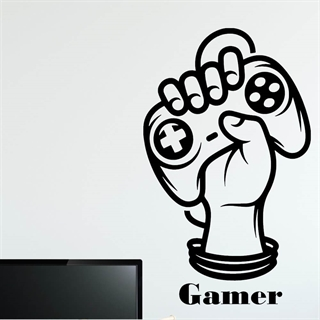 Gamer Joystick  2 - Wallstickers