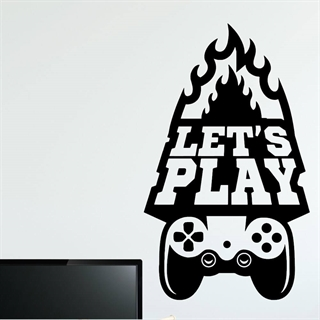 Let's play - Wallstickers