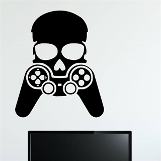 Controller head- Wallstickers