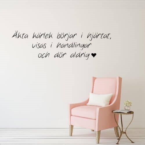 äkta kärlek citat