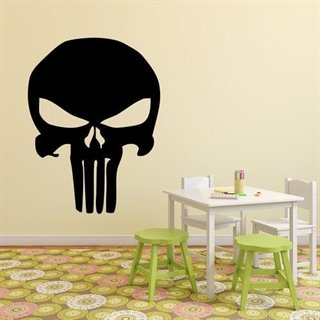 Punisher - En wallsticker med hämnaren